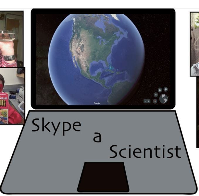 """""""Skype A Scientist"""" Brings…Scientists To Your Classroom"""