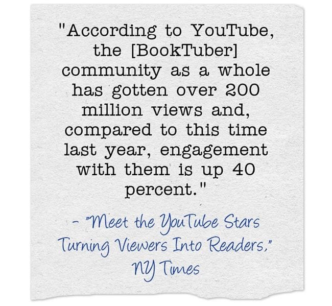 "Am I The Only Teacher Who Didn't Know About ""BookTubers""?"