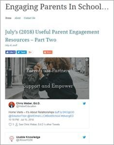 Engaging parents blog