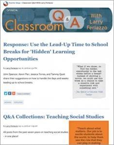 Classroom Q & A
