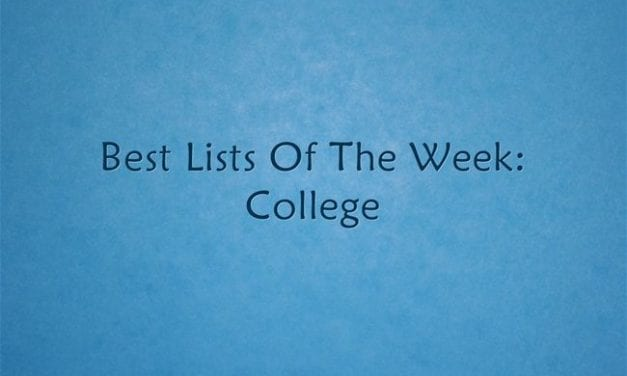 Best Lists Of The Week: College