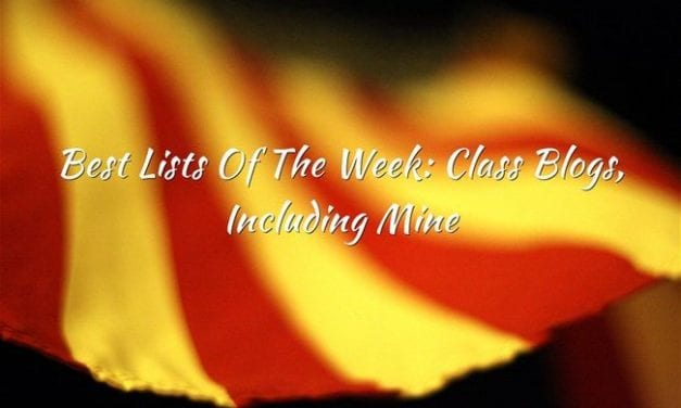 Best Lists Of The Week: Class Blogs, Including Mine