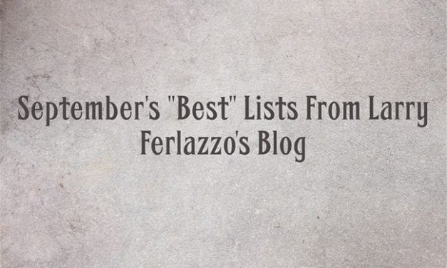 "September's ""Best"" Lists – There Are Now 1,975 Of Them"