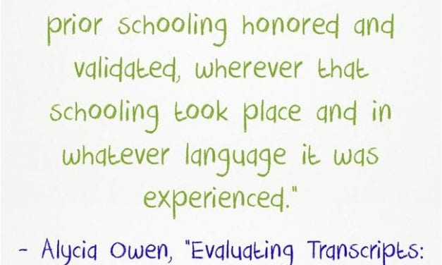 Guest Post: Evaluating Transcripts: Getting it right, one student at a time