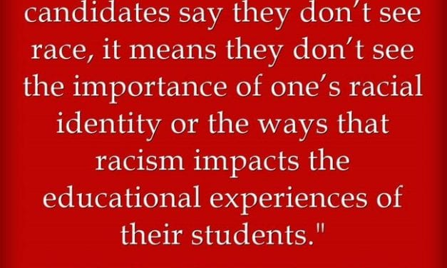 """""""Race & Racism are not 'Merely Curricular Topics'"""""""