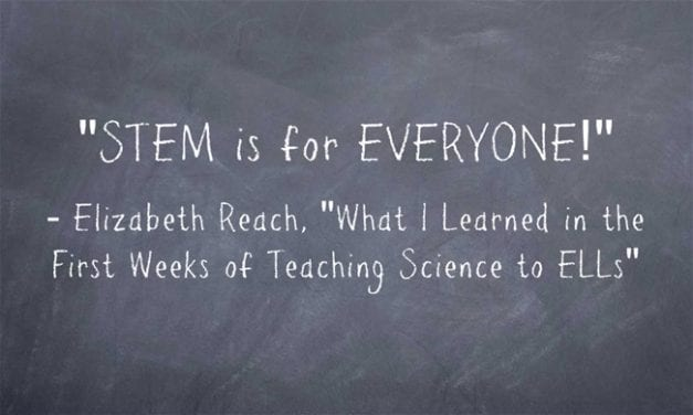 Guest Post: What I Learned in the First Weeks of Teaching Science to ELLs