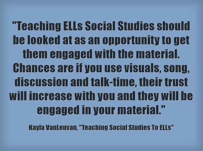 How Teachers Can Find Time For Social >> Guest Post Teaching Social Studies To Ells Larry Ferlazzo S