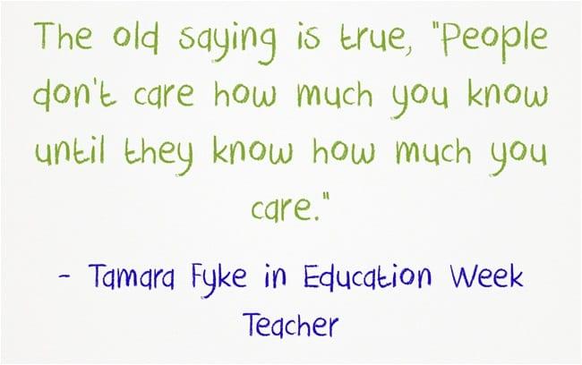 """""""'Don't Just Teach the Curriculum, Teach the Students'"""""""