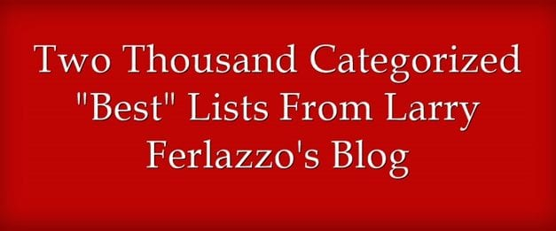 """There Are Now Two-Thousand (Yes, 2,000) """"Best"""" Lists!"""