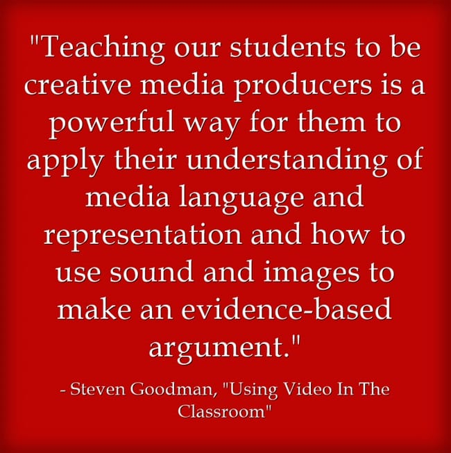 Guest Post: Using Video In The Classroom
