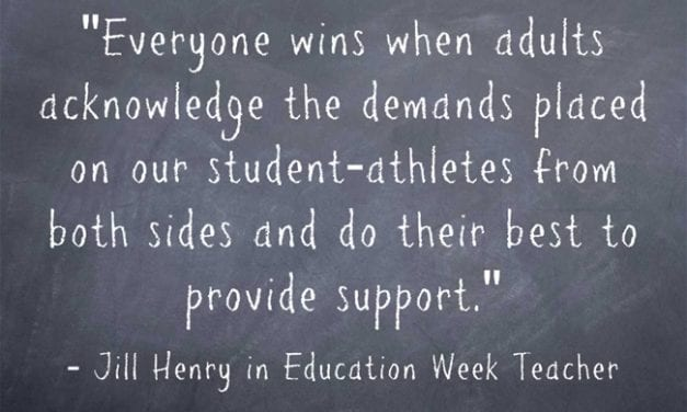 """""""How Teachers and Sports Coaches Can Help Ensure That 'Everyone Wins'"""""""
