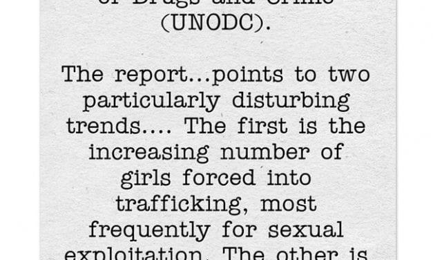 New U.N. Report On Human Trafficking