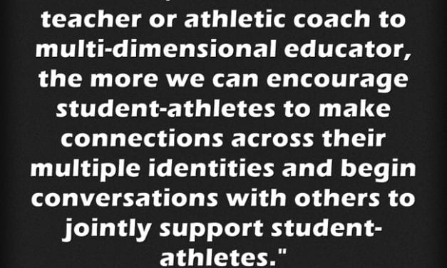 """""""Ways to Help 'Student-Athletes Achieve Academic and Athletic Success'"""""""