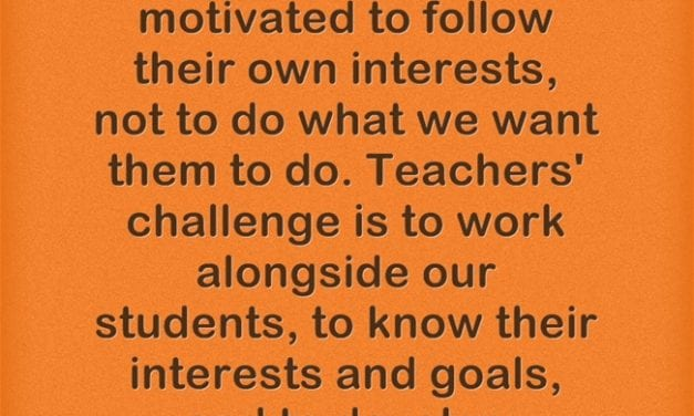 A Look Back: Eight Things Skilled Teachers Think, Say, and Do