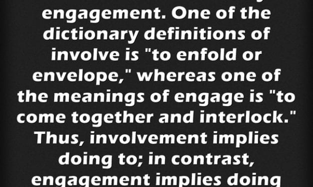 """A Look Back: The Differences Between Parent """"Involvement"""" & Parent """"Engagement"""""""