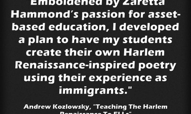 Guest Post: Teaching The Harlem Renaissance To ELLs