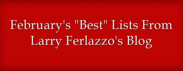 "February's ""Best"" Lists – There Are Now 2,028 Of Them!"