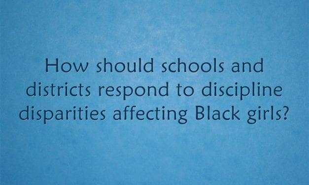 """How Should Schools Respond to Discipline Disparities Affecting Black Girls?"""