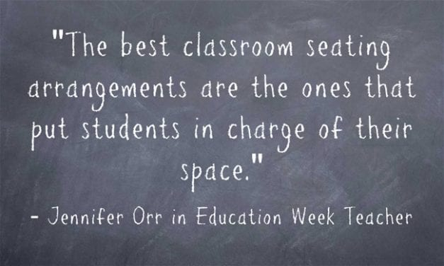 """'The Best Classroom Seating Puts Students in Charge of Their Space'"""