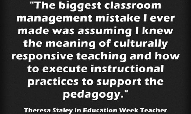 """The Biggest Classroom-Management Mistakes"""