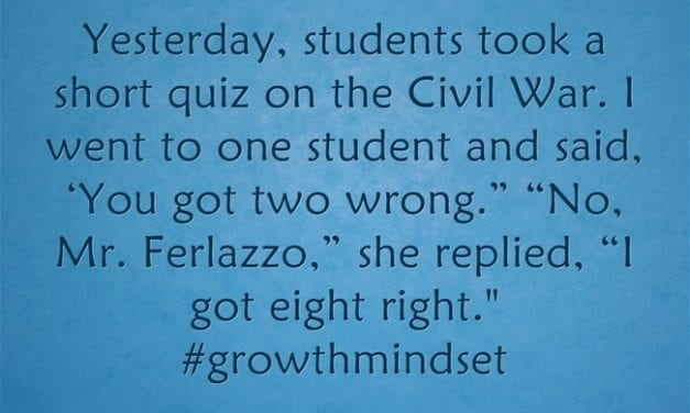 Growth Mindset In Action