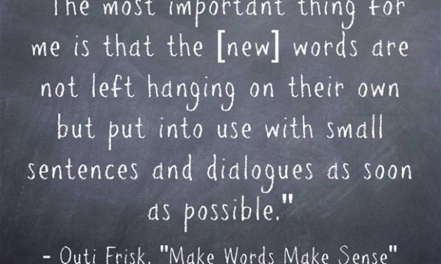 Guest Post: Make Words Make Sense