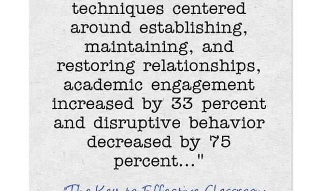 This Article Is One Of The Best Pieces I've Read On Classroom Management