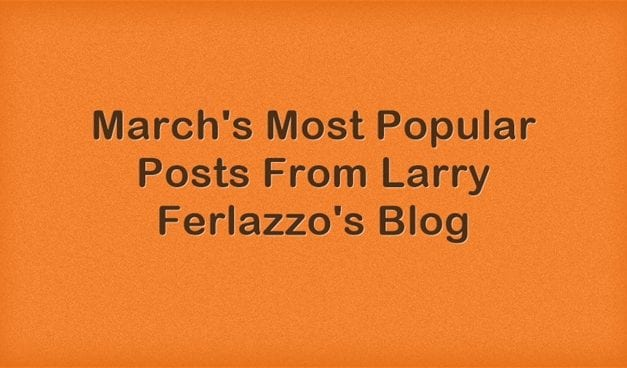 March's Most Popular Posts From This Blog