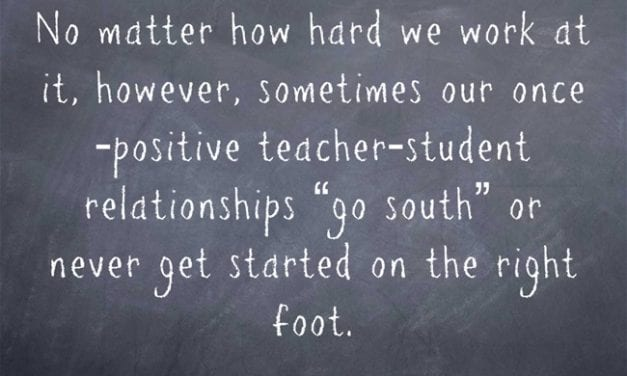 A Look Back: Ways To Turn A Bad Teacher-Student Relationship Into A Good One