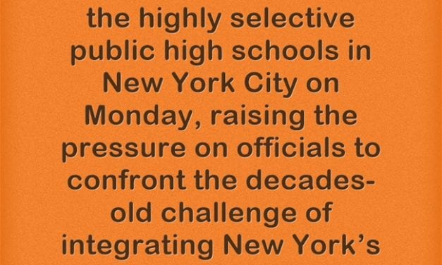 7 African-American Students Get Into NYC's Most Selective High School – Out Of 895 Slots