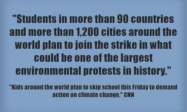 Students Are Striking On Friday To Demand Action On Climate Change