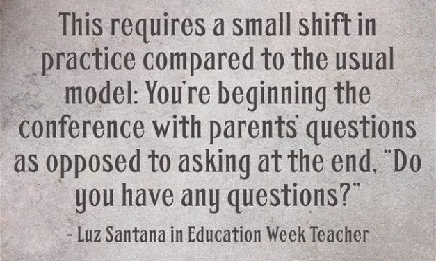 """""""Strategies for Effective Parent-Teacher Conferences"""""""