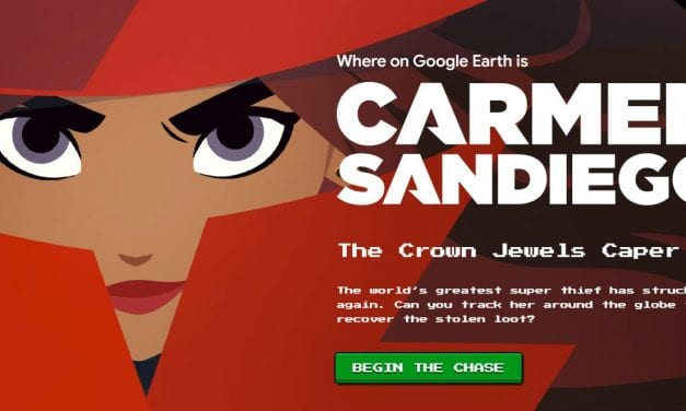 """Where on Google Earth is Carmen Sandiego?"" Is A Neat New Geography Game"
