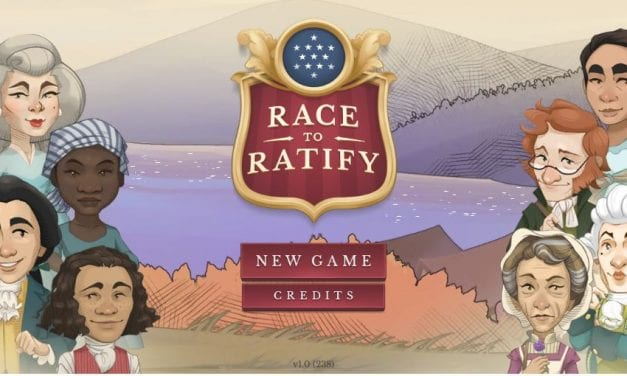 """""""Race To Ratify"""" Is A New Online U.S. History Game"""