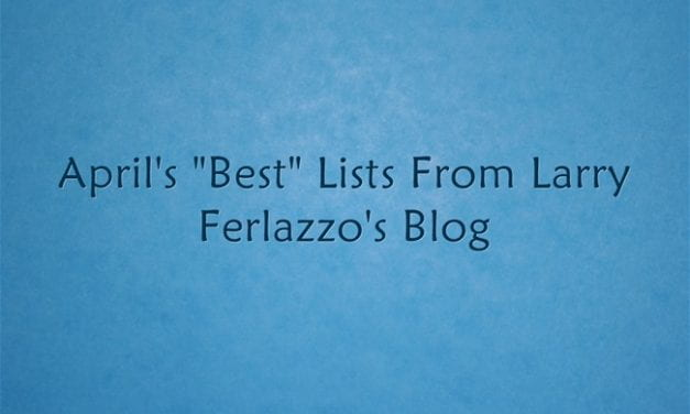 "April's ""Best"" Lists – There Are Now 2,038 Of Them!"