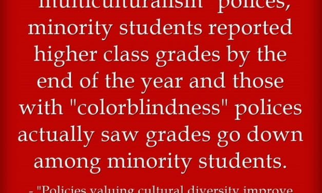"""No Surprise: Study Finds That Educators Who """"Don't See Color"""" Harm Students Of Color"""