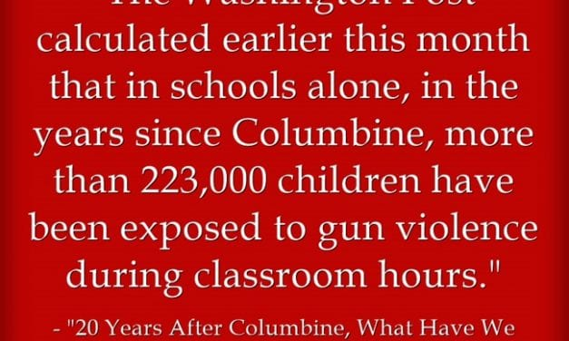 April 20th Is The Twentieth Anniversary Of The Columbine Mass Shooting – Here Are Related Resources