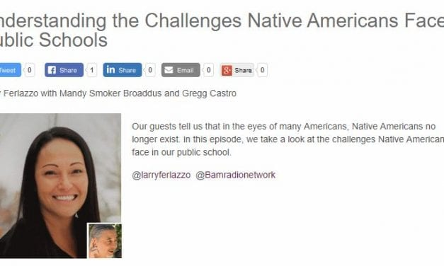 My New BAM! Radio Show Is On The Challenges Facing Native American Students