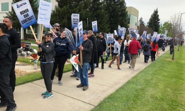 "CBS News Video Segment: ""Sacramento teachers on strike"""