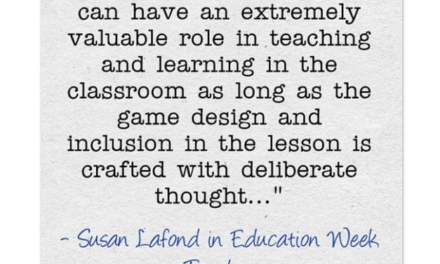 """""""Ways to Use Games Effectively in the Classroom"""""""