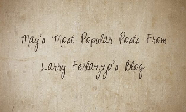 May's Most Popular Posts From This Blog