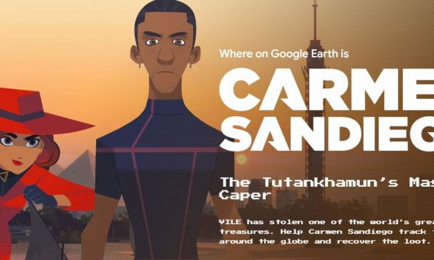 Google Shares A Second Online Carmen Sandiego Game