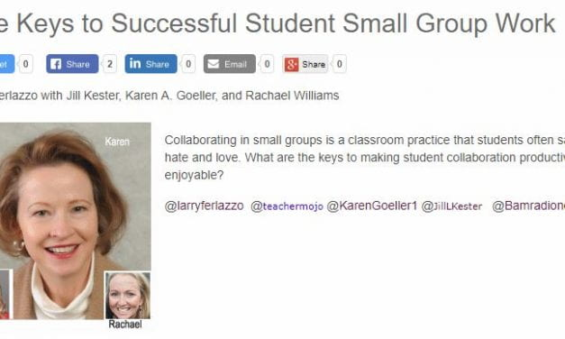 My Latest BAM! Radio Show Is On Ways To Make Small Group Work More Effective