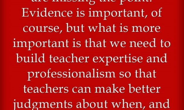 Quote Of The Day On The Role Of Research In Education