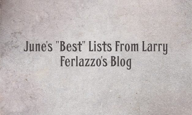 "June's ""Best"" Lists – There Are Now 2,051 Of Them!"
