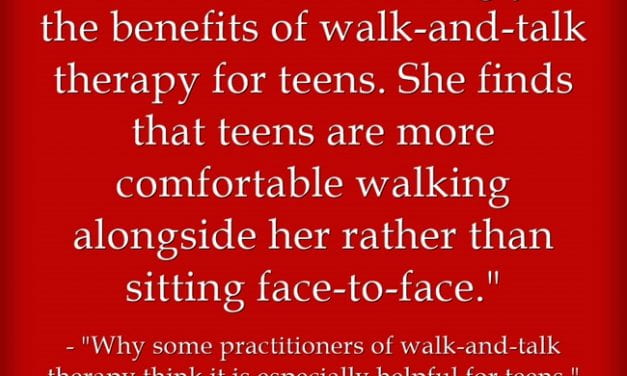 The Value Of Walk-And-Talks With Students