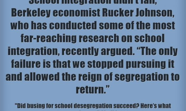 Important Info On Busing & School Desegregation