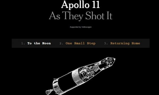 """Apollo 11 As They Shot It"" Is A Cool NY Times Interactive"
