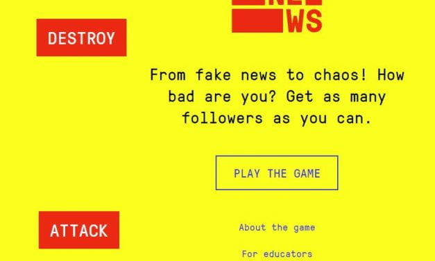 """""""Bad News Game"""" Is Supposed To Teach Students Information Literacy"""