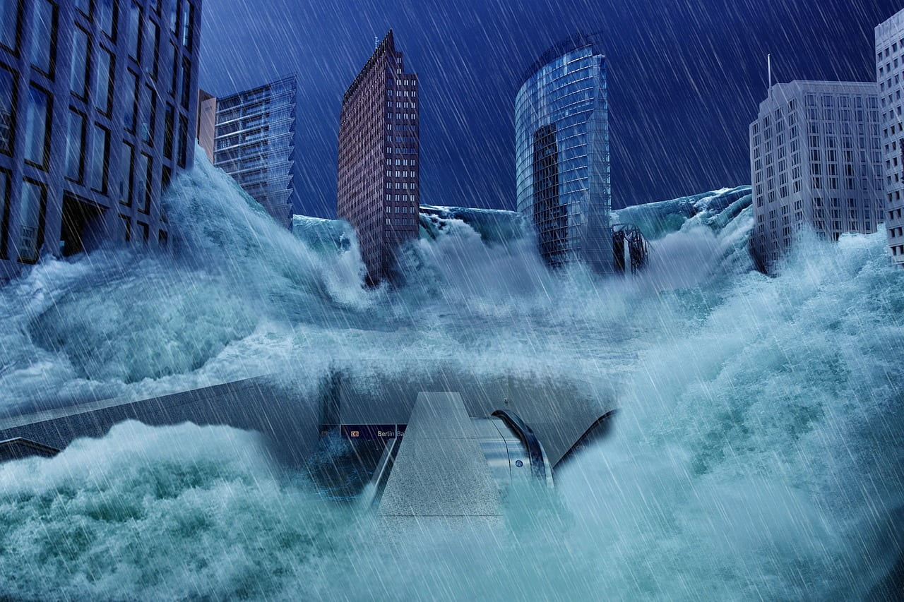 Video: Virtual Reality Experience Of Being Trapped In A Car During A Flash Flood